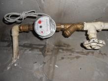 Установка водосчетчиков в САО