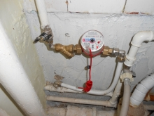 Установка счетчиков воды в САО