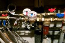 Установка водосчетчиков холодной воды