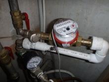 установка счетчиков воды в Москве