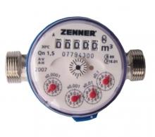 Установка счетчиков воды Zenner
